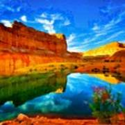 Canyon Glories Poster