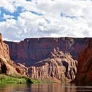 Canyon Rocks Poster
