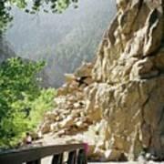 Canyon Rocks Horizontal Poster