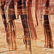 Canyon Textile Design Poster