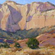 Canyon Walls Of Zion National Park Poster