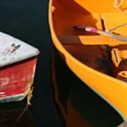Cape Ann Boats Poster