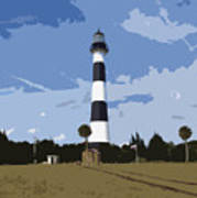 Cape Canaveral Light Poster
