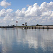Cape Canaveral Locks In Florida Poster