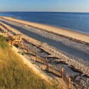 Cape Cod Bay Beach Truro Poster