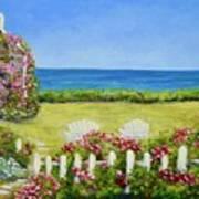 Cape Cod Cottage Poster