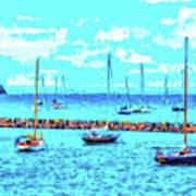 Cape Cod - Sailing Mecca Poster