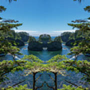 Cape Flattery Reflection Poster