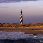 Cape Hatteras Lighthouse At Sunrise - Fs000606 Poster