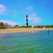 Cape Lookout 1 Poster by Betsy Knapp