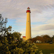 Cape May Lighthouse In Spring Poster