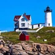 Cape Neddick Lighthouse Poster