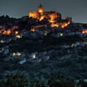 Capestrano Abruzzo Italy Poster