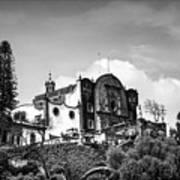 Capilla Del Cerrito - Basilica De Guadalupe - Mexico City I Poster