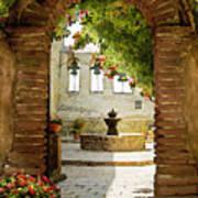Capistrano Gate Poster