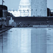 Capitol Reflections Iv Poster