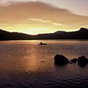 Caples Lake Poster