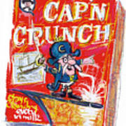Capn Crunch Poster by Russell Pierce