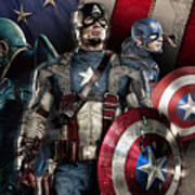 Captain America - America Poster