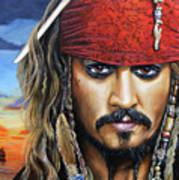 Captain Jack Poster by Arie Van der Wijst