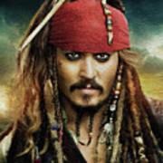Captain Jack Sparrow Poster