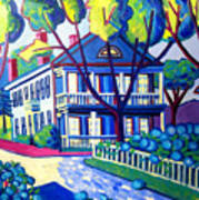Captain Morse House Edgartown Poster