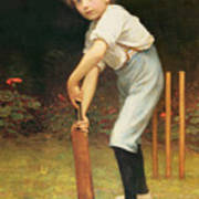 Captain Of The Eleven Poster by Philip Hermogenes Calderon