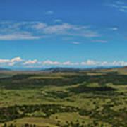 Capulin Panorama Poster