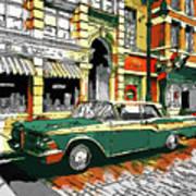 Car Club 1960s Poster