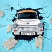 Car Graffiti Poster