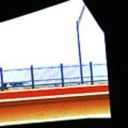 Car On The Bridge Poster