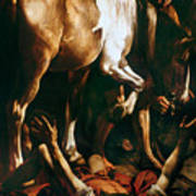 Caravaggio: St. Paul Poster by Granger