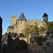 Carcassonne Castle Poster