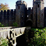 Cardiff Castle Gate Poster