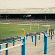 Cardiff - Ninian Park - East Stand Railway Side 3 - August 1991 Poster