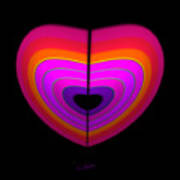 Cardinal Heart Poster