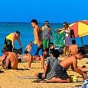 Carefree In Waikiki Poster