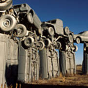 Carhenge In The Afternoon Poster