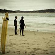 Carmel Beach, Ca Poster