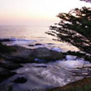 Carmel Highlands Sunset 2 Poster