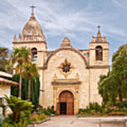 Carmel Mission San Carlos Borromeo Poster