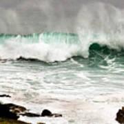 Carmel Wave Rock Poster
