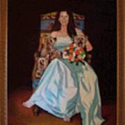 Carol Anne Clark Wife Of State Judge Of Georgia Herman Coolidge Poster