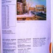 Carole Spandau Listed In Magazin'art Biennial Guide To Canadian Artists In Galleries 2002-2003 Edit Poster