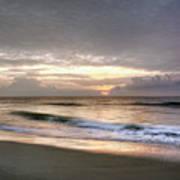 Carolina Beach Morning Poster