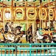 Carousel - Como Zoo, St. Paul, Minnesota Poster