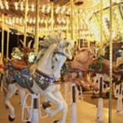 Carousel Horse 2 Poster