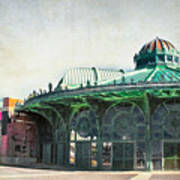 Carousel House At Asbury Park Poster