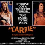Carrie, Sissy Spacek, 1976 Poster