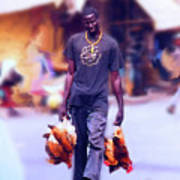 Carrying Chickens To Dakar Poster